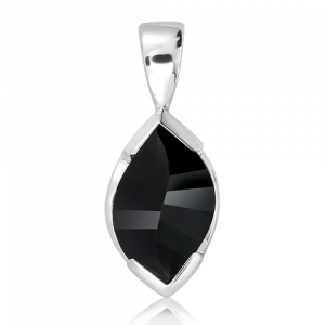 Onyx Special cut Silver Pendant