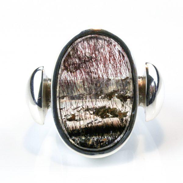 Super Seven Handmade Sterling Silver Ring
