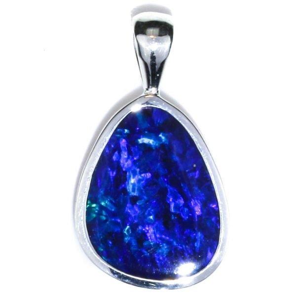 Opal Handmade Silver Pendant