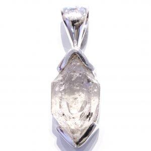 Herkimer Diamond in Silver Handmade Pendant