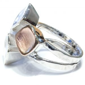 Gold and Silver Ring Handmade in Israel