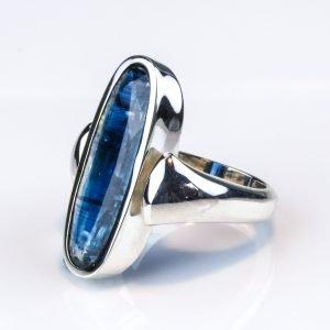 Faceted Kyanite Handmade Ring