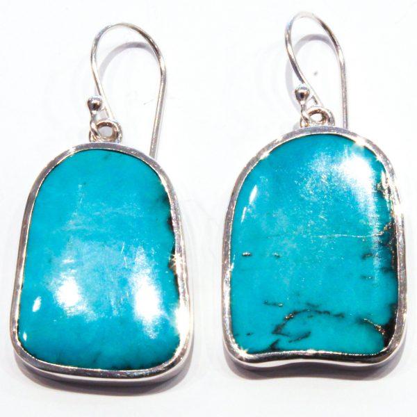 Arizona Turquoise Handmade Earrings