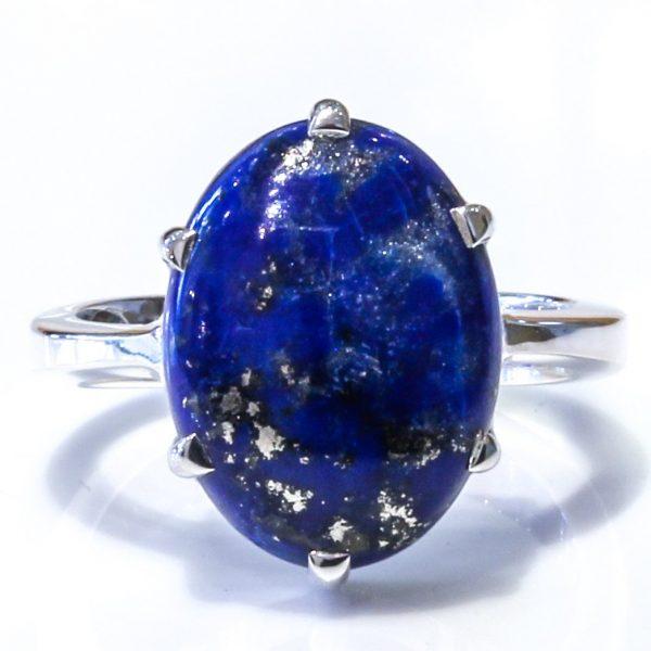 Lapis Lazuli Handmade Silver Ring
