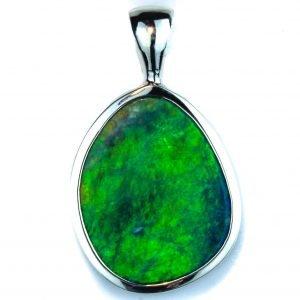 Aust Opal Handmade Pendant