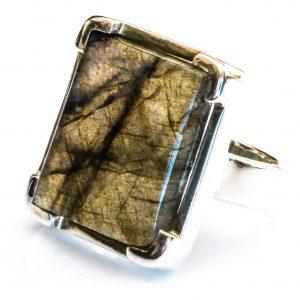 Labradorite Bespoke Silver Ring