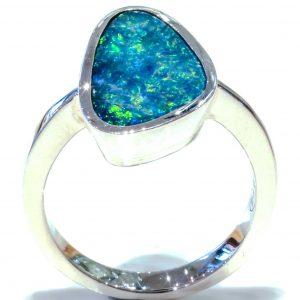 Australian Opal Artisan Made Ring
