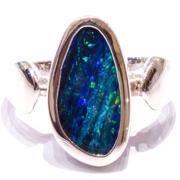 Australian Opal Handmade Ring