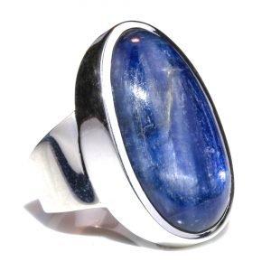 Kyanite Oval Handmade Ring