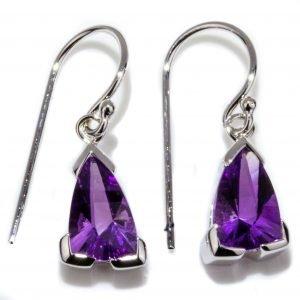 Amethyst Dainty Earrings